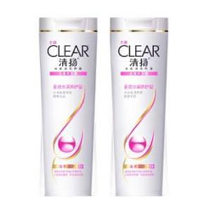 清扬这款洗发露属于多效水润养护型,富含维他命矿物群,能达到强健