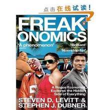 《超爆魔鬼经济学》Freakonomics  英文版 8.19元包邮(平时50.4)
