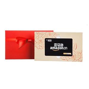 亚马逊100元购物礼品卡