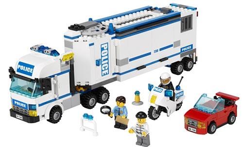 乐高 积木玩具 l7288 城市系列 流动警署 299元包邮(399-100)