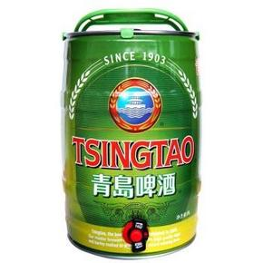 tsingtao 青岛啤酒 10度经典 5l 桶装119元包邮,可买二送一