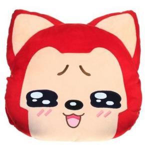 阿狸 表情暖手抱枕 阿狸毛绒玩具图片