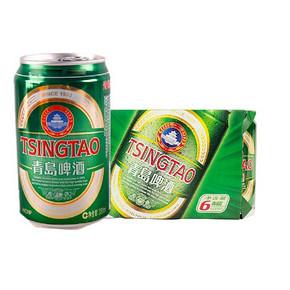 限地区:青岛啤酒 经典易拉罐 330mlx6罐 19.9元(可59-30)